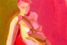 Paintings - people, full body and 3/4 / by Sue Carter