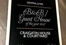 Craigatin House Awards