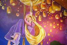 Murals - girls room / by Sue Carter