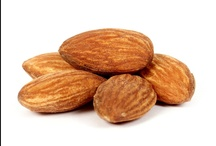 { Almonds } / Almond lovers will savor these gourmet roasted nuts. Large, premium almonds are slow roasted and toasted until crisp. Our roasted almonds are a delightful snack or food gift full of crunch and fresh, nutritious flavor. We offer roasted salted almonds and sweet chocolate almonds. (chocolate October-April only)