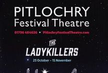 Pitlochry Festival Theatre Plays 2014 / The 2014 Summer season plays at Pitlochry Festival Theatre, Pitlochry, Perthshire, Scotland - from Craigatin House and Courtyard