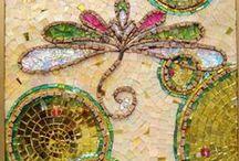 Tiles, Glass, Mosaic