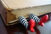 Reading - bookmarks, shelves, etc