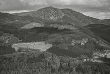 Ben Vrackie - Pitlochry Scotland / Ben Vrackie towers 841metres above Pitlochry town in Perthshire Scotland