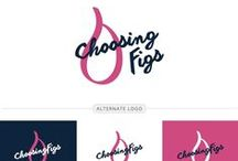 Branding and Design / Branding and design inspiration for your brand or blog. Hipster font logos, boho design logos, girly branding, and feminine design, plus blue, gold, and pink color schemes based on travel destinations, cozy cafes, and beyond.