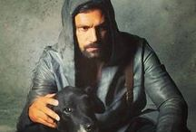 Manu Bennett! / Extremely sexy man of color from New Zealand best known as Crixus on the Starz series Spartacus! / by Yve     C. Hancock
