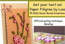 Learn How to Quill / Tips, tricks, and lessons on paper filigree (aka quilling)