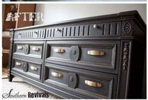 Dream Hobby / Repurposing old furniture / by Samantha Lee