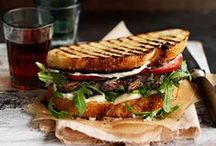 Sandwich Recipes / Sandwich recipes perfect for lunches. Sandwich ideas for trying something new. BLTs, chicken clubs, hat sandwiches, beef sandwiches, cold sandwiches, tuna sandwiches, grilled cheese sandwiches, and more.