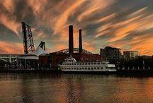 Cleveland   Sunsets / The beautiful sunsets around Cleveland, Ohio