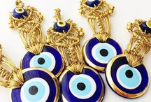 Evil eye Home Decor / The category includes evil eye & hamsa hand decors - wall hangings