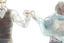 Hanji and Erwin
