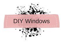 DIY Window Glass Beads Chimes / Beaded curtain, beaded sun catchers, beaded window