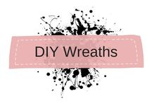 DIY Wreaths, Illustrations and Photos