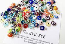 Murano glass evil eye