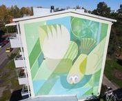 MURALS & STREET ART in Finland