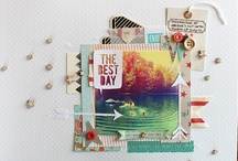 Scrappin / Scrapbook pages that inspire me. / by LeeAnne Jones
