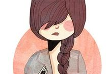 Illustrations / by Aubrey and me Blog
