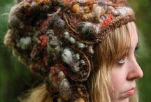 Felt, Fabric, and Yarn / Stunning creations in felt, fabric, thread, and yarn. / by LeeAnne Jones
