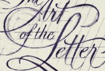 Lettering I Love / by Michelle Lavin