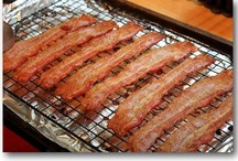 """Bacon  / A little """"Everything"""" bacon board."""