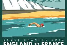 (Vintage) Posters & Ads / Vintage and vintage-look posters - especially travel themes