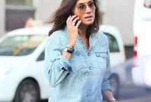 Emmanuelle Alt style / French Vogue editor personal style