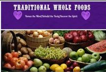 Traditional Whole Foods / Whole Food Nutrition like Your Grandmother and Great-Grandmother Used to Make Plus Other Healthy Living Food! Everything from Fermented foods,Nourishing Bone Broths to Superfoods!
