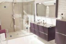 Salle de bain / Les meilleures idées design et déco pour aménager votre salle de bain. Place au bien-être et à la relaxation à travers baignoire, douche et balnéothérapie