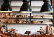 Coffee and Bakery / lovely interiors and details from bakeries, restaurants and cafées