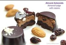 Raw Vegan Chocolate, Desserts, Breakfast & Smoothies / Raw vegan food by Live Love Raw - yum! :) We do catering in Marbella, Spain, find out more at http://www.liveloveraw.com/alchemy-raw-vegan-foods-marbella-spain/ / by Anya Andreeva - Live Love Raw