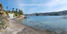 beach of AGIA PELAGIA / photos of the beach of Agia Pelagia on the island of Crete GREECE  #agiapelagiacrete #resort  #agiapelagia #crete #heraklion #beach