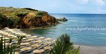 beach of Kladissos / photos of the beach of KLADISSOS in Agia Pelagia, island of Crete GREECE #agiapelagiacrete #resort  #agiapelagia #crete #heraklion #beach #kladissos