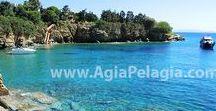 beach of FYLAKES / photos of the beach of FYLAKES in Agia Pelagia, island of Crete GREECE #fylakes #agiapelagiacrete #resort  #agiapelagia #crete #heraklion #beach #fylakesbeach