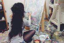 ART / ART inspiration ideas tutorials tips beautiful art