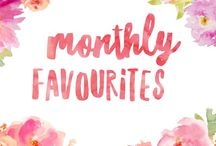 Monthly favourites / Favourite things from each month
