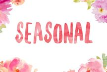 Seasonal / Things related to the different seasons