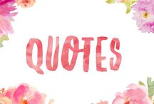 Quotes / Inspiration and motivational quotes about life