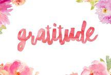 Gratitude / Ways to practise gratitude