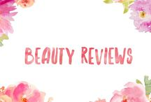 Beauty reviews / Reviews of beauty products and cosmetics