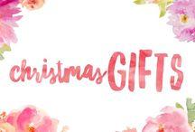 Christmas Gifts / Christmas gift ideas and inspiration
