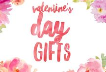Valentine's Day Gifts / Ideas and inspiration for Valentine's Day gifts
