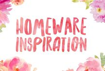 Homeware Inspiration / Ideas and inspiration for a beautiful looking home!
