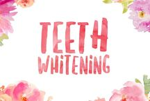 Teeth Whitening / Tips, tricks and techniques for whiter teeth
