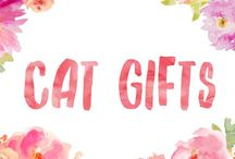 Cat Gifts / Gifts for cat lovers