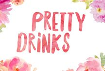 Pretty Drinks / Recipes and inspiration for pretty drinks to try