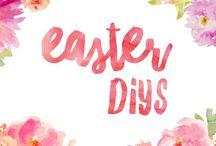 Easter DIYs / Diys for Easter crafts