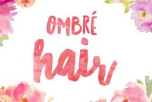 Ombre hair  / Ombré hair styles and colour inspiration