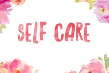 Self Care / Ways to practise self care
