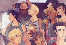 PJO/HOO / Percy Jackson and the olympians/ Heroes Of Olympus